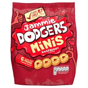 Jammie Dodgers Mini Snack Packs