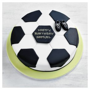 Fiona Cairns Football Cake 25cm Waitrose