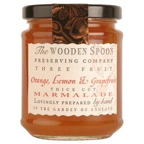 Wooden Spoon thick cut orange marmalade
