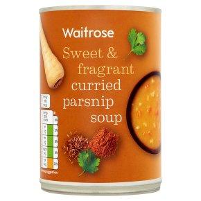 Waitrose spicy parsnip soup