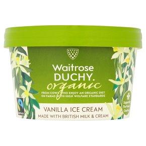 Waitrose Duchy Vanilla Ice Cream