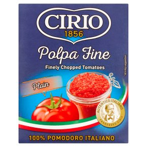 Cirio chopped tomatoes