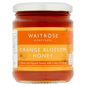 Waitrose orange blossom honey