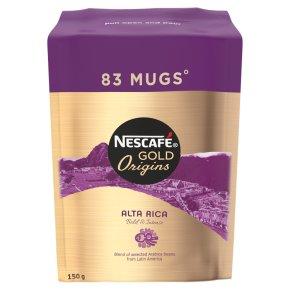 Nescafe Gold Origins Alta Rica Instant Coffee Refill