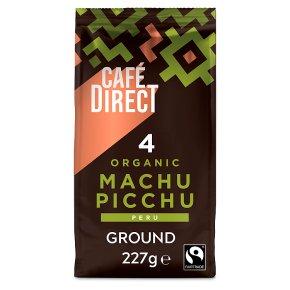 Cafédirect Organic Fairtrade Machu Picchu ground coffee