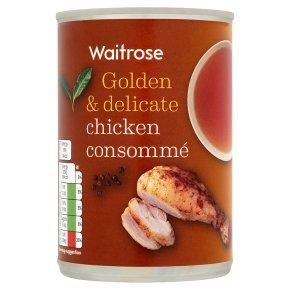 Waitrose chicken consomme soup