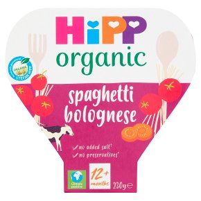 Hipp Organic spaghetti bolognese 12 months plus