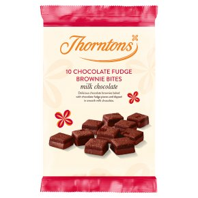 Thorntons Mini Chocolate Fudge Brownies