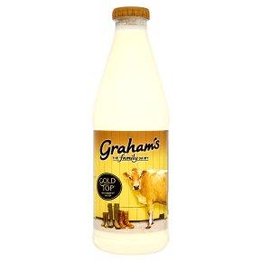 Grahams Dairy the original gold top