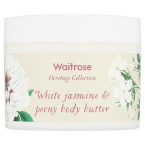 Waitrose Heritage Jasmine Body Butter