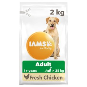 Iams for Vitality with Chicken Adult >25kg