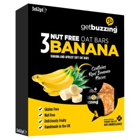 The Buzz banana bars