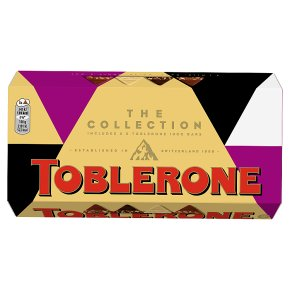 Toblerone Milkwhitedark Milk Fruit Nut