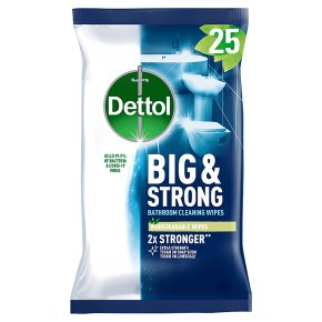 Dettol Big & Strong Bathroom Wipes