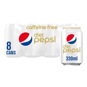 Pepsi diet caffeine free