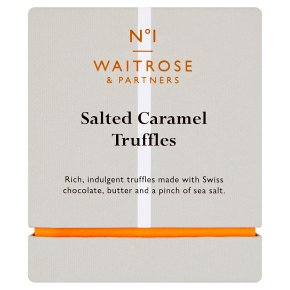 Waitrose 1 Salted Caramel Truffles