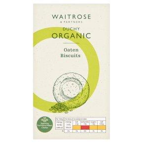 Waitrose Duchy Organic original oaten biscuits