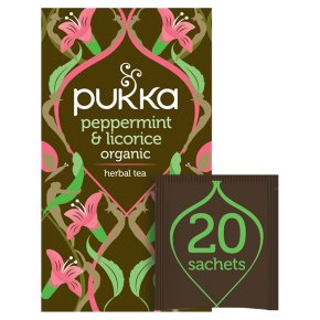 Pukka Peppermint & Licorice 20Herbal Tea Sachets