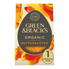 Green & Black's Butterscotch Milk Chocolate Egg