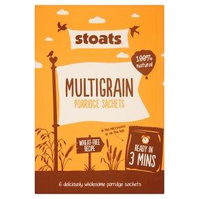Stoats Multigrain Porridge Sachets