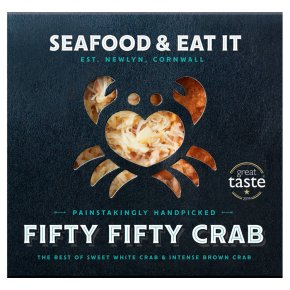 Seafood & Eat It Cornish Fifty Fifty Crab