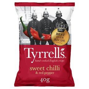 Tyrell's sweet chilli & red pepper potato chips