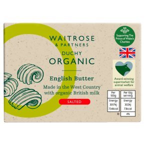 Duchy Organic English Salted Butter