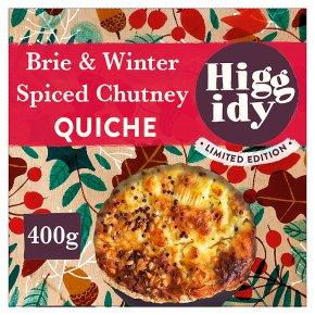 Higgidy French Brie & Spiced Chutney Quiche