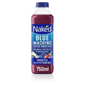 Naked Blue Machine Juice Smoothie