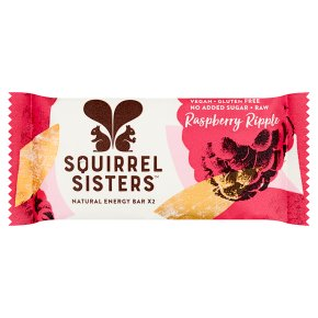 Squirrel Sisters Raspberry Ripple Energy Bars