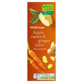 Waitrose Apple, Carrot & Ginger Juice