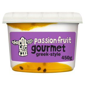The Collective Passionfruit Gourmet Live Yoghurt