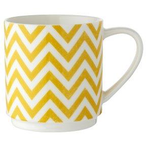 Waitrose Oker Chevron Stacking Mug