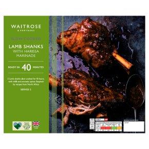 Waitrose Harissa Lamb Shanks