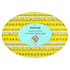 Waitrose Assorted Filled Chocolate Mini Eggs