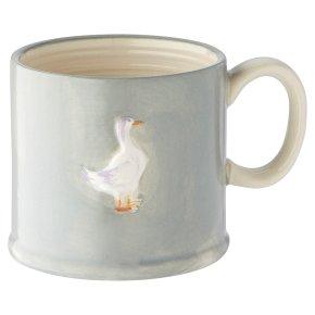 Waitrose Goose Embossed Mug