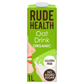 Rude Health organic longlife oat drink