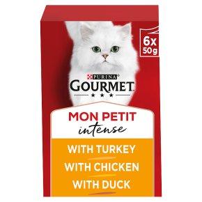 Gourmet Mon Petit Cat Food Pouches Poultry