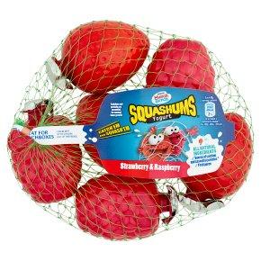 Munch Bunch Squashums strawberry & raspberry yogurt