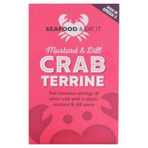 Seafood & Eat It Crab Terrine Mustard & Dill