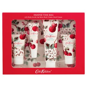 Cath Kidston Pamper Time Bag Cherry