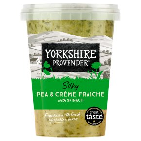 Yorkshire Provender Pea & Spinach Soup with Fresh Mint