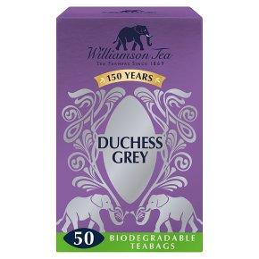 Williamson Tea Duchess Grey 50 Tea Bags