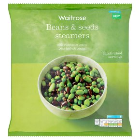 Waitrose Beans & Seeds Steamers