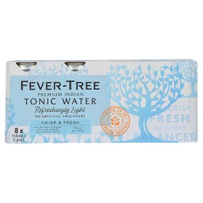Fever-Tree Refreshingly Light Tonic Water 8x150ml