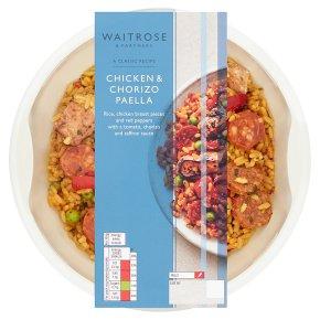 Waitrose Chicken & Chorizo Paella