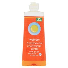 Waitrose ginger & lime washing up liquid