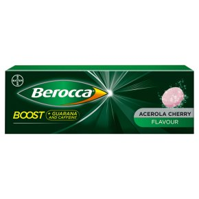 Berocca boost guarana tablets