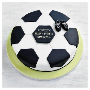 Fiona Cairns Football Cake - 20cm