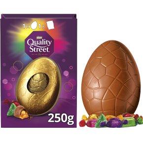 Nestle quality street chocolate egg
